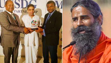 स्वास्थ्य क्षेत्र में योगदान के लिए आचार्य बालकृष्ण को UN में सम्मान, बाबा रामदेव ने सराहा, कहा- हमें गर्व है