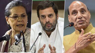 लोकसभा चुनाव 2019: पांचवें चरण में राजनाथ सिंह, सोनिया गांधी, राहुल समेत इन नेताओं के भाग्य का होगा फैसला