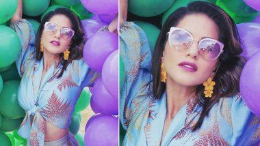 सनी लियोन की ये हॉट फोटो आपके दिन को बना देगी और भी रंगीन!