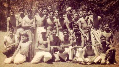 अमिताभ बच्चन ने शेयर की 62 साल पुरानी फोटो, फुटबॉल खेल रहे बिग बी को पहचान पाना है बेहद मुश्किल