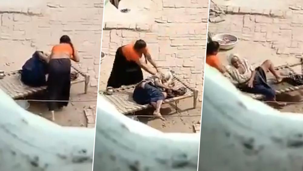 आजाद हिन्द फौज की सदस्य रह चुकी बुजुर्ग सास की बहू ने की बेरहमी से पिटाई, देखें दिल दहला देनेवाला वीडियो
