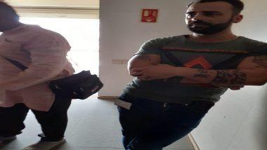 गुड़गांव में इराकी नागरिक ने दो मासूम कुत्तों को 8वीं मंजिल से नीचे फेंका, आरोपी  गिरफ्तार