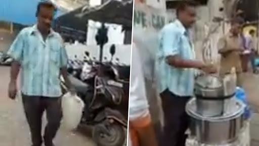मुंबई: टॉयलेट के पानी से बनाता था इडली की चटनी, सोशल मीडिया पर वायरल हुआ वीडियो