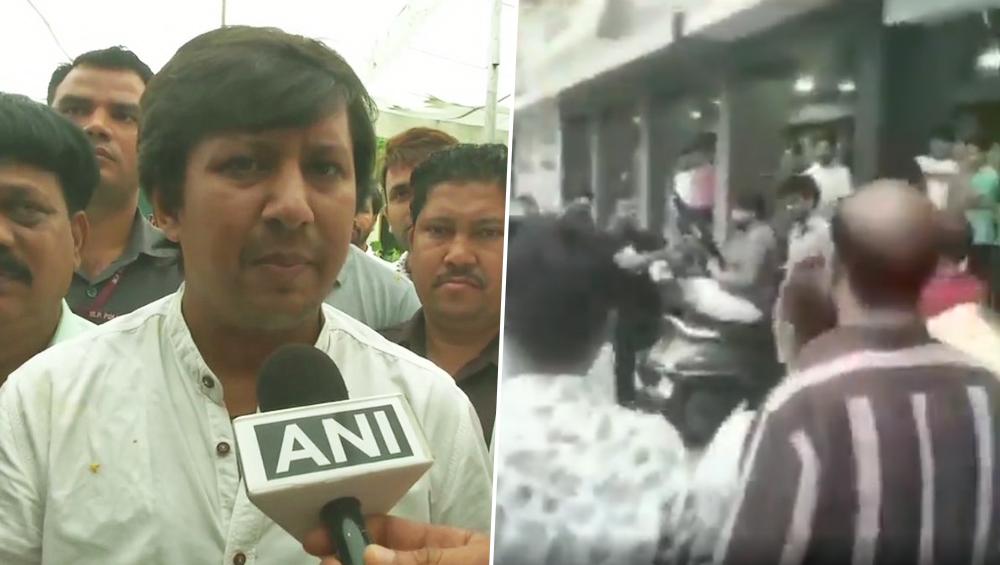 विधायक आकाश विजयवर्गीय को जमानत मिलने के बाद समर्थकों ने मनाया जश्न,  BJP दफ्तर के बाहर की फायरिंग, देखें वीडियो