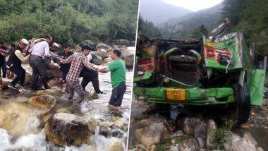 हिमाचल प्रदेश के कुल्लू में बड़ा हादसा, खाई में गिरी बस, 33 की मौत