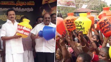 तमिलनाडु में गहराया जल संकट: सड़क पर उतरे DMK अध्यक्ष एमके स्टालिन, लोकसभा में चर्चा के लिए दिया नोटिस