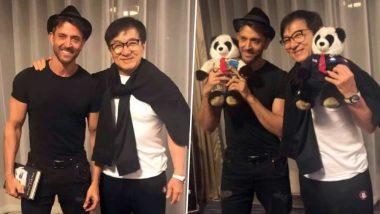 चीन में जैकी चैन से मिले बॉलीवुड अभिनेता ऋतिक रोशन, देखें तस्वीरें