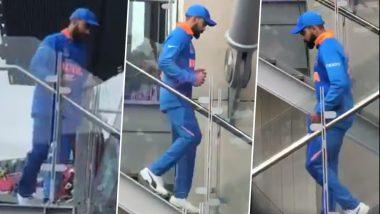 India vs Pakistan, ICC Cricket World Cup 2019: विराट कोहली का हुआ शानदार स्वागत, वीडियो देखकर जल भुन जाएंगे पाकिस्तानी फैन्स