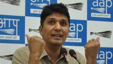 आप प्रवक्ता सौरभ भारद्वाज ने बीजेपी सांसदों पर लगाया आरोप, कहा- दिल्ली की कानून-व्यवस्था का मुद्दा कभी नहीं उठाया