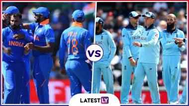 IND vs ENG, ICC World UP 2019 : आज भारत और इंग्लैंड के बीच होगी भिडंत, एजबेस्टन मैदान पर होगा मुकाबला