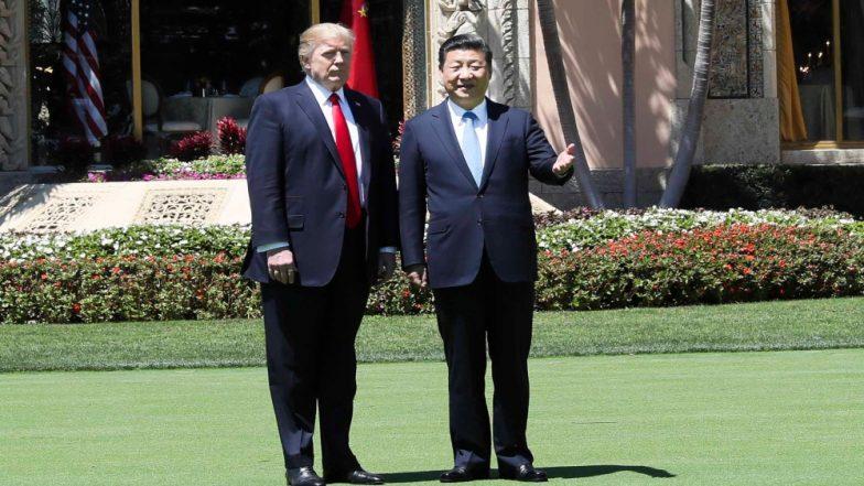 चीन के राष्ट्रपति शी जिनपिंग ने अमेरिकी राष्ट्रपति डोनाल्ड ट्रंप के साथ फोन पर की बातचीत