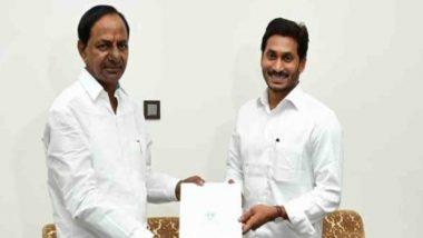 तेलंगाना और आंध्र प्रदेश के मुख्यमंत्रियों के बीच अंतर्राज्यीय मुद्दे पर हुई बातचीत