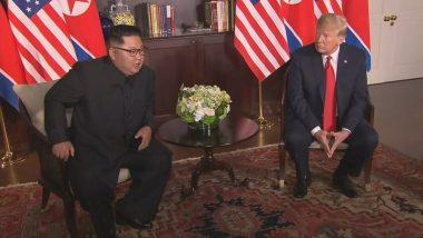 उत्तर कोरियाई नेता किम जोंग-उन को 'Hello' बोलने के लिए डीएमजेड रवाना हुए अमेरिकी राष्ट्रपति डोनाल्ड ट्रम्प