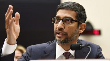 गूगल के CEO सुंदर पिचाई ने लोगों को किया आगाह, कहा- सिर्फ नियंत्रण के नाम पर हम पर नियंत्रण ना करें