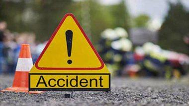 मध्यप्रदेश: सतना में निजी यात्री बस पलटी, दुर्घटना से 4 की मौत 37 घायल