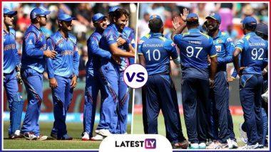 Afghanistan vs Sri Lanka, ICC Cricket World Cup 2019 Weather and Pitch Report: देखें आज कार्डिफ के सोफिया गार्डन्स मैदान में कैसा रहेगा मौसम और पिच का मिजाज
