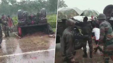 दर्दनाक हादसा: असम में सेना का वाहन पलटा, 2 जवान शहीद और 3 जख्मी
