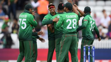 WI vs BAN, ICC CWC 2019: बांग्लादेश ने वेस्टइंडीज को 7 विकेट से हराया