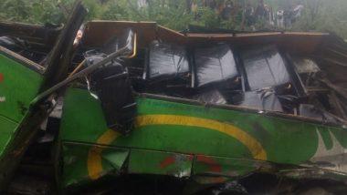 यूपी: बांदा जिले में बस और ट्रैक्टर की टॉली के बीच भीषण टक्कर, 13 घायल