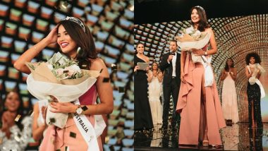 भारतीय मूल की प्रिया सेराव बनी मिस यूनिवर्स ऑस्ट्रेलिया, परिजनों और दोस्तों संग मनाया जश्न