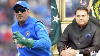 धोनी के ग्लव्स पर 'बलिदान बैज' से पाकिस्तान को लगी मिर्ची, इमरान के मंत्री ने कहा- क्रिकेट खेलने गए हैं, महाभारत के लिए नहीं