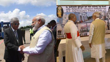 श्रीलंका के चर्च पहुंचे पीएम मोदी: ईस्टर धमाकों में मारे गए लोगों को दी श्रद्धांजलि, कहा- भारत एकजुटता से मित्र के साथ खड़ा