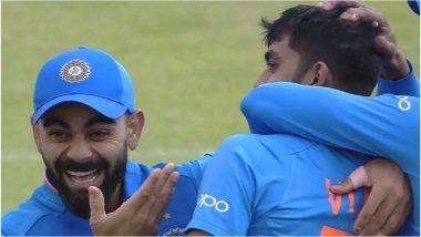 India vs Pakistan, ICC CWC 2019: विराट कोहली ने विजय शंकर के विकेट लेने पर दिया मजेदार रिएक्शन, सोशल मीडिया पर छाए मीम्स