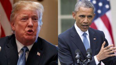 राष्ट्रपति डोनाल्ड ट्रंप ने कार्बन उत्सर्जन कम करने की बराक ओबामा की योजना को किया रद्द