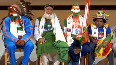 IND vs PAK, CWC 2019: भारत-पाक हाई-वोल्टेज मुकाबले के लिए सुधीर कुमार गौतम और चाचा भी पहुंचे मैनचेस्टर, देखें वीडियो