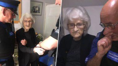 मरने से पहले इस 93 वर्षीय बुजुर्ग महिला की आखिरी ख्वाहिश जानकर हो जाएंगे हैरान, पुलिस ने की पूरी