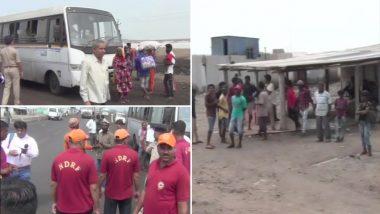 Cyclone Vayu to hit Gujarat: तूफान 'वायु' से पहले बंद किया गया कच्छ पोर्ट, NDRF की टीम ने संभाला मोर्चा