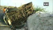 पश्चिम बंगाल जा रही प्रवासी मजदूरों की बस सिकिदिरी घाटी में दुर्घटनाग्रस्त, 20 जख्मी