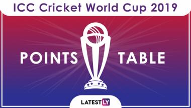 ICC Cricket World Cup 2019 Points Table Updated: ऑस्ट्रेलिया के खिलाफ मिली हार के बाद देखें पॉइंट्स टेबल में कहां है इंग्लैंड