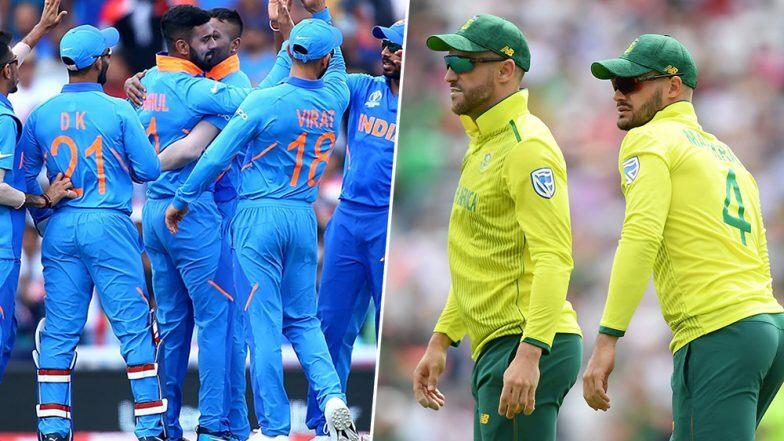 IND vs SA 2019: इन आकड़ो के जरिए जानिए T20 सीरीज से पहले किसका पलड़ा रहा है भारी