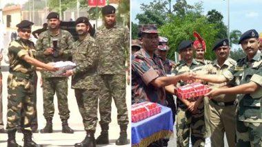 Eid Mubarak 2019: भारतीय, बांग्लादेशी सीमा रक्षकों ने एक-दूसरे को ईद की बधाइयां दीं