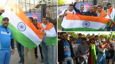 IND vs SA, ICC Cricket World Cup 2019: स्टेडियम के बाहर लगा फैन्स का जमावड़ा,  भारतीय टीम के लिए जमकर किया चीयर, देखें तस्वीरें