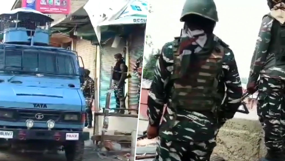 जम्मू-कश्मीर: सुरक्षाबलों और आतंकियों के बीच  24 घंटे के भीतर दूसरा मुठभेड़, 2-3 आतंकियों को घेरा