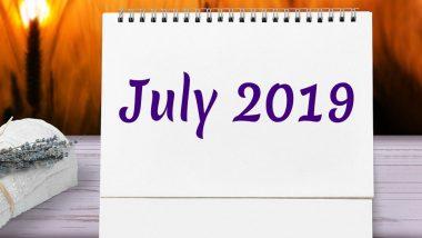 July 2019 Calendar: भगवान शिव के भक्तों के लिए बेहद खास है जुलाई का महीना, देखें इस माह पड़ने वाले खास व्रतों और त्योहारों की पूरी लिस्ट