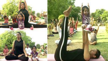 International Yoga Day 2019: दुनिया की सबसे छोटी महिला ज्योति आमगे ने किया योग, देखें वीडियो
