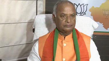 राजस्थान बीजेपी अध्यक्ष मदनलाल सैनी का निधन, दिल्ली एम्स में ली अंतिम सांस, पीएम मोदी ने जताया दुख