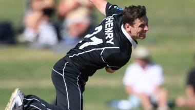 NZ vs SL, ICC Cricket World Cup 2019: श्रीलंका के खिलाफ शानदार गेंदबाजी के लिए मैट हेनरी को मिला 'मैन ऑफ द मैच' अवार्ड