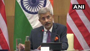 भारत वही करेगा जो उसके राष्ट्रीय हित में है, एस-400 समझौते पर पोम्पिओ से बोले विदेश मंत्री जयशंकर