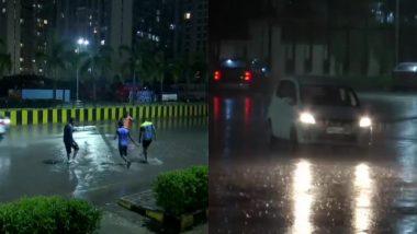 Mumbai Monsoon Update: मुंबई में झमाझम बारिश, कई उड़ानों को डायवर्ट किया गया