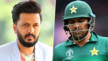 पाकिस्तानी कप्तान सरफराज अहमद का मजाक उड़ा रहे शख्स पर भड़के रितेश देशमुख, ट्विटर पर कही ये बड़ी बात