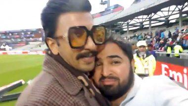 रणवीर सिंह ने मैच के बाद पाकिस्तानी फैन को लगाया गले, कहा- निराश मत हो, देखें वीडियो