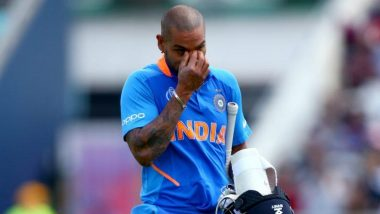ICC Cricket World Cup 2019: भारतीय टीम से बाहर होने के बाद शिखर धवन ने शेयर किया इमोशनल वीडियो, टीम के लिए कही ये बात