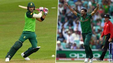 South Africa vs Bangladesh, ICC Cricket World Cup 2019 Weather and Pitch Report: देखें आज लंदन के द ओवल मैदान में कैसा रहेगा मौसम और पिच का मिजाज