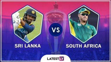 SL vs SA, ICC Cricket World Cup 2019: दक्षिण अफ्रीका ने श्रीलंका को 9 विकेट से हराया