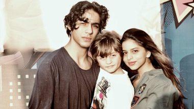 एक फ्रेम में दिखे अबराम, सुहाना और आर्यन खान, पिता शाहरुख खान ने शेयर की ये खूबसूरत तस्वीर