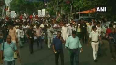 LPG सिलेंडर की बढ़ी हुई कीमतों के खिलाफ टीएमसी ने निकाला मोर्चा, ममता बनर्जी ने मोदी सरकार पर बोला हमला